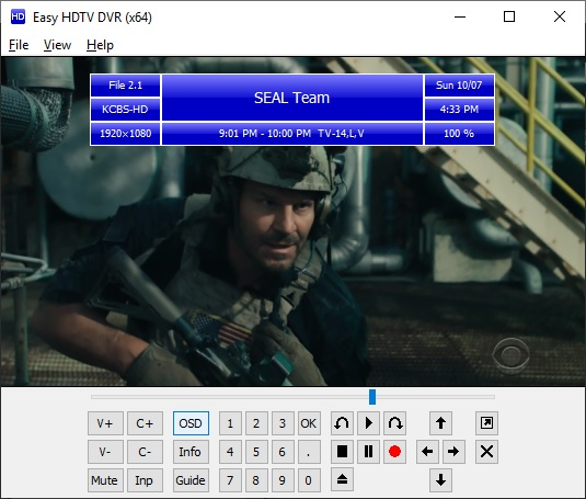 Easy HDTV DVR x64 screenshot