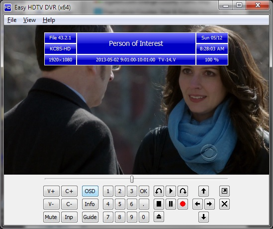 Full Easy HDTV DVR x64 screenshot